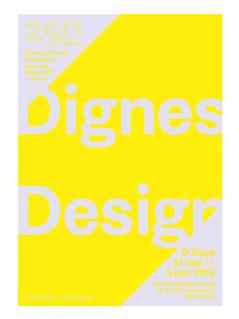 couverture du journal de l'exposition Dignes Design