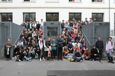 Les nouveaux étudiants de l'EnsAD 2017-2018