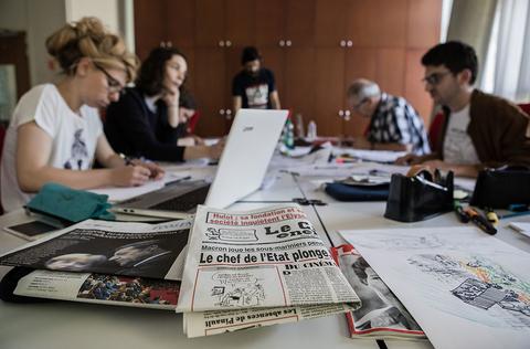 workshop dessin de presse