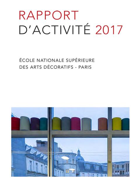 rapport d'activité de l'Ensad 2017
