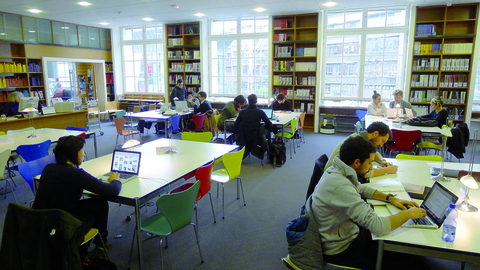 La Bibliothèque de l'Ecole des Arts Déco