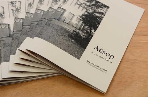 Partenariat EnsAD - Aesop