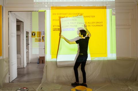 Workshop Ensad/Versailles « dessin et poétique des espaces »