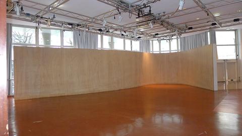 L'espace Rotonde, 125m², capacité : 80 personnes debout,  50 personnes assises