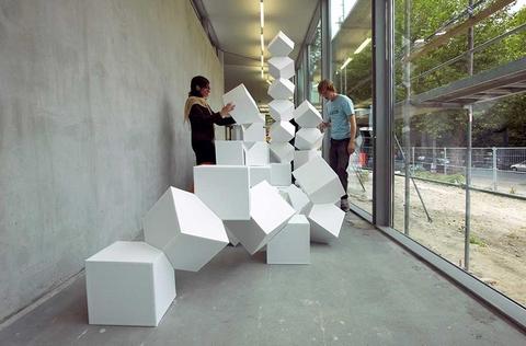 Jeppe Hein, Intervention Impact, 2004