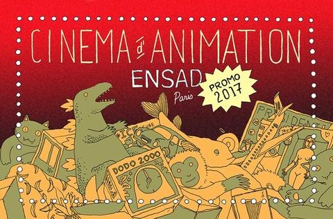 Films d'animation 2017 de l'EnsAD